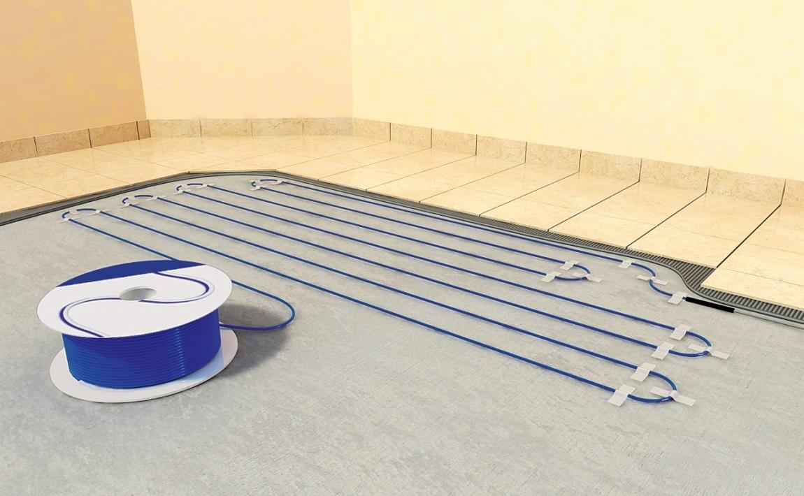 Elektrické podlahové vytápění