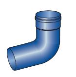 Kolena komínové  pro kondenzační