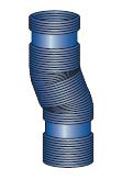 Komínové trubky ohebná (flex) pro kondenzační kotle