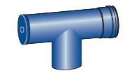 Revizní a kontrolni díl pro kondenzační kotle