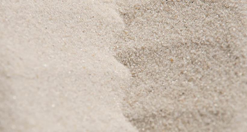 Přírodní křemičitý písek