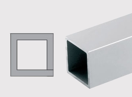 Konstrukční hliníkové čtvercové