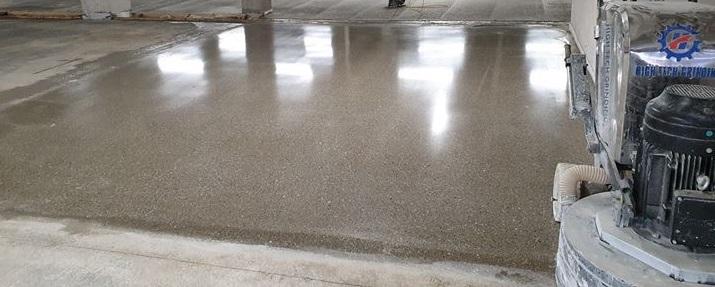 Leštěné betonové podlahy