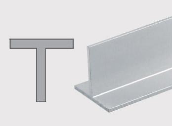 Konstrukční hliníkové T profily