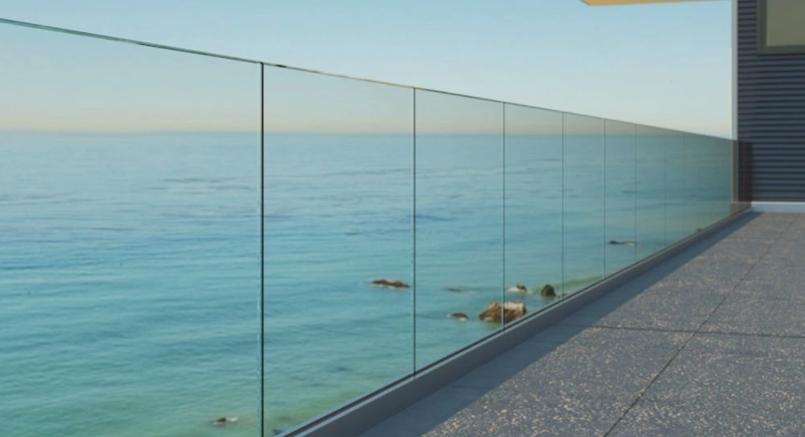 Spodní lišty skla