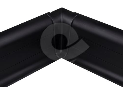 Cezar PREMIUM vnitřní roh, PVC, 59mm, černá, dekor 090