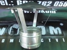 Nerezová komínová stříška pr. 130mm