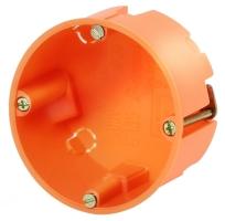 FTR krabice do sádrokartonu 6x35mm oranžová