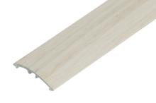 Přechodová lišta Cezar narážecí 30mm 2,7m dub bílý