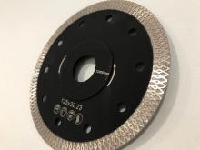 Diamantový kotouč řezný BI TURBO slim  na mramor, žulu a keramiku HN5 pr. 125mm