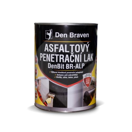 Den Braven asfaltový penetrační lak DenBit BR-ALP 4,5kg