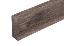 Cezar PREMIUM koncovka levá, PVC, 59mm, dub skalistý, dekor 212