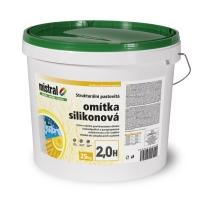 Mistral omítka silikon 2H TB pastovitá silikonová omítka 25kg
