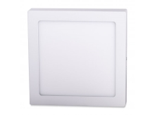 LED panel svítidlo Foyu 25W, 300mm, bílá, 6500K, bílý rámeček čtvercový, přisazená