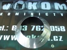 Krycí manžeta 50mm pr. 230mm