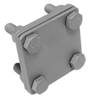 Spojovací svorka měděná páska-páska M8 SR 2b Tremis