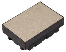 Elektoinstalační krabice do betonu Unica, 6 modulů 45x45mm
