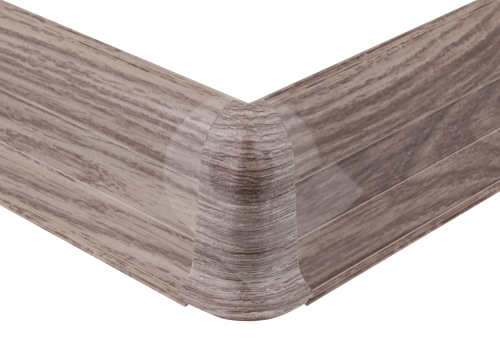 Cezar PREMIUM vnější roh, PVC, 59mm, dub rovinný, dekor 155
