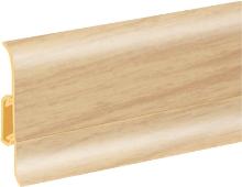 Podlahová lišta soklová Cezar Duo 84