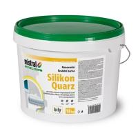 Mistral Silikon Quarz renovační fasádní barva 18kg