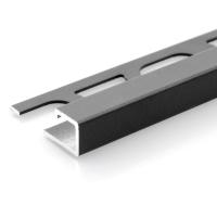 Čtvercový ukončovací profil Profilpas hliník lakovaný matný antracit 10mm 2,7m