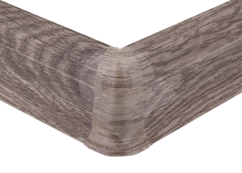 Cezar PREMIUM vnější roh, PVC, 59mm, dub nordický, dekor 166