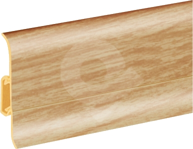 Podlahová lišta soklová Cezar Duo 72