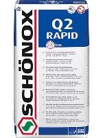 Lepidlo rychle tuhnoucí se sníženým skluzem Schonox Q2 Rapid C2FTE 25kg