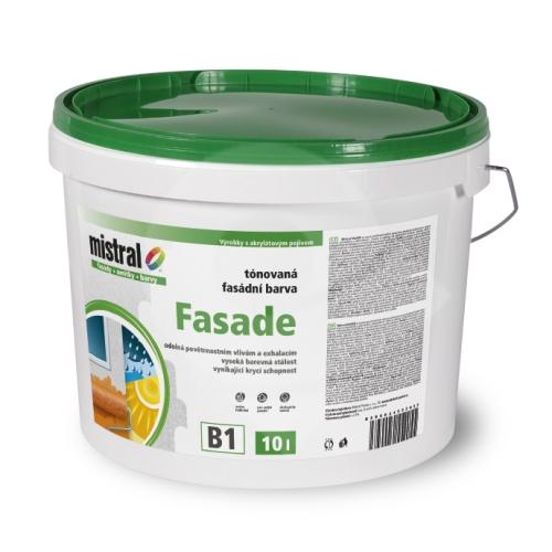Mistral Fasade Pro Mix B3 akrylová fasádní barva 10l