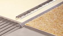 Nájezdový profil pod dlažbu Cezar přírodní hliník 10mm 2,5m