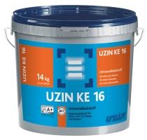 Disperzní lepidlo UZIN KE 16 pro lepení pvc, cv, linolea a textil. podlahovin 6kg