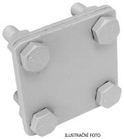 Nerezová spojovací svorka páska-páska M8 SR 2b V4A Tremis