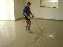 Anhydritové podlahy AE 20 Litý anhydritový potěr