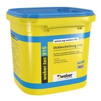 Bitumenová hydroizolační a lepící hmota Weber.tec 915 30l