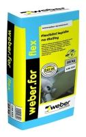 Lepidlo flexibilní mrazuvzdorné Weber.for flex C2T S1 25kg