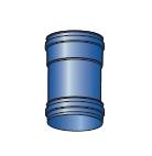 Komínová spojka pro kondenzační kotle