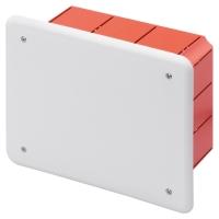 Rozbočovací a propojovací krabice s víkem pod omítku 160x130x70mm