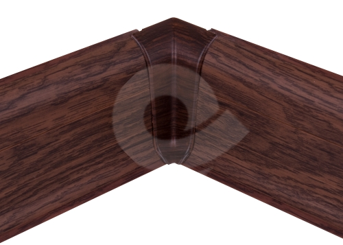 Cezar PREMIUM vnitřní roh, PVC, 59mm, dub wiking, dekor 169