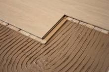 Položení plovoucí podlahy celoplošně lepené, cena práce za m2