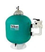 Filtrační nádoba TRITON 480 s průtokem 9 m³/h a bočním ventilem