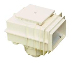 Skimmer V20 do betonu 200x150mm, napojení 50, 63mm