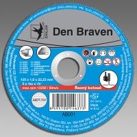 Den Braven řezný kotouč kov/inox A46T(A30S)-230x1.9x22.23-T41