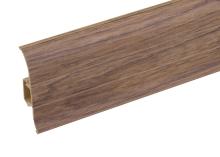 Podlahová lišta soklová Cezar Premium dekor 198