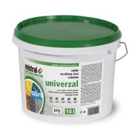Mistral Univerzal Pro Mix bílá vodou ředitelná barva s vysokou kryvostí 10l