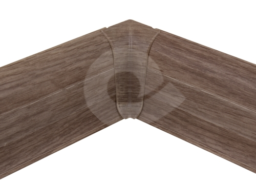Cezar PREMIUM vnitřní roh, PVC, 59mm, dub letní, dekor 228