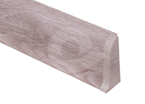 Cezar PREMIUM koncovka pravá, PVC, 59mm, dub labrador, dekor 196