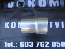 Dilatační díl 570-880mm pr. 160mm