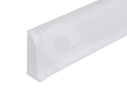 Cezar PREMIUM koncovka levá, PVC, 59mm, bílá, dekor 089