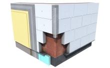 Zateplení fasády polystyrenem EPS 70 F, cena montáže za m2 bez materiálu