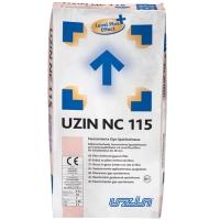 Nivelační sádrová hmota s vlákny pro tloušťky vrstvy do 30mm Uzin NC 115 25kg